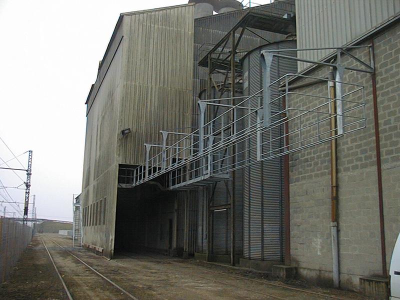 Securisation chargement train